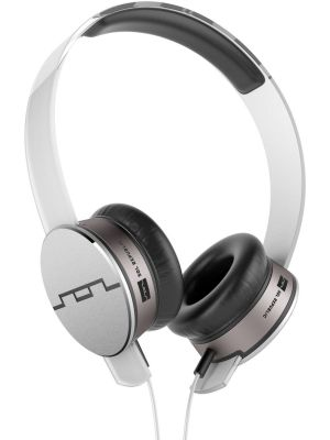 SOL REPUBLIC 1241-02 Tracks HD On-Ear Headphones with Three-Button Remote and Microphone, White