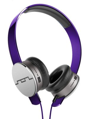 SOL REPUBLIC 1241-05 Tracks HD On-Ear Headphones with Three-Button Remote and Microphone, Purple