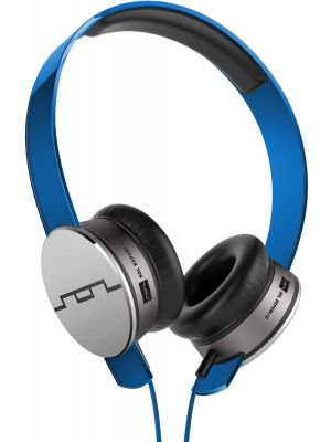 SOL REPUBLIC 1241-06 Tracks HD On-Ear Headphones with Three-Button Remote and Microphone, Blue
