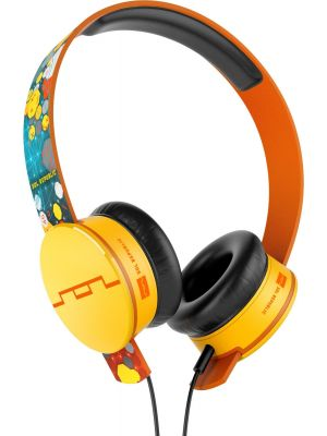 SOL REPUBLIC 1299-01 Tracks On-Ear Headphones with Three-Button Remote and Microphone Featuring Deadmau5 Collaboration, Multicolored