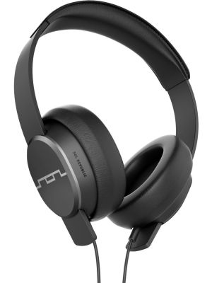 SOL REPUBLIC 1601-30 Master Tracks Over-Ear Headphones with Three-Button Remote and Microphone, Gunmetal