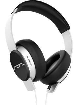 SOL REPUBLIC 1601-32 Master Tracks Over-Ear Headphones with Three-Button Remote and Microphone, White