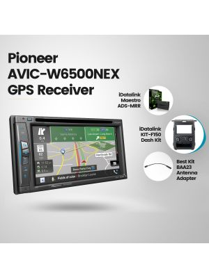 Pioneer AVIC-W6500NEX Navigation Receiver [2013-2014 Ford F150 Trucks Vehicles Car Audio] (BUNDLE PACKAGE)