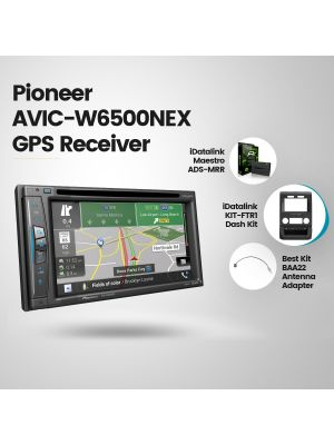 Pioneer AVIC-W6500NEX Navigation Receiver [2015+ Ford pickups Vehicles Car Audio] (BUNDLE PACKAGE)