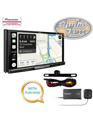 Pioneer AVIC-W8400NEX Navigation Receiver & iBEAM TE-BPCIR Backup Camera & SiriusXM SXV300V1