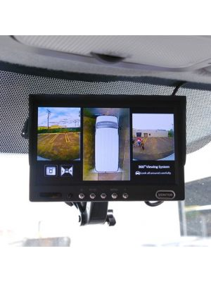 Brandmotion AVMS-3540V2 360 Degree Vision System for 30' Cargo Van with Heavy Duty Cameras