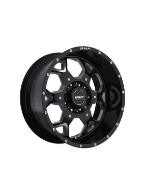 BMF Wheels  22X10.5 8X6.5 -25MM S.O.T.A. DEATH METAL BLACK BMF660B-205816525