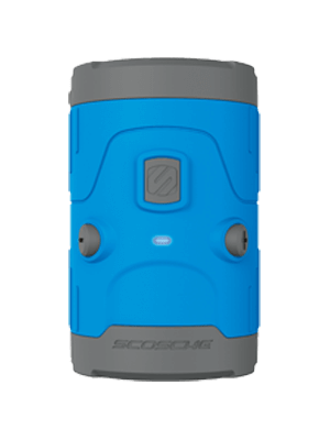 Scosche BTH2OBL Boombottle H2O Waterproof Bluetooth Speaker - Blue