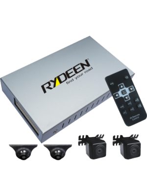 Rydeen BVR400-II Blind Spot 4 Channel Vehicle DVR System Front  Rear  Right & Left (BVR400II)