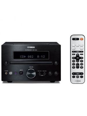Yamaha CRX-332BL CD Receiver (Black)