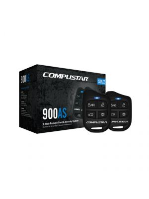 Compustar CS900-AS All-in-One Remote Start + Alarm Bundle (CS900AS)