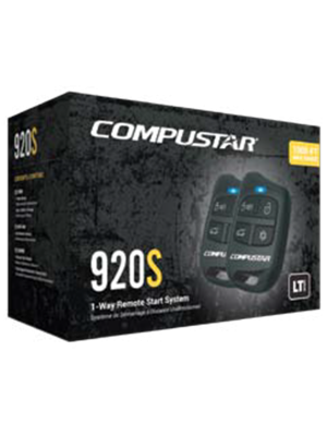 Compustar CS920-S 1-Way Remote Start Kit - 1000' (CS920S)