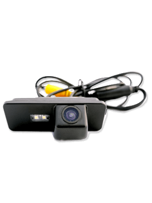 Crux CVW-07L Camera For Volkswagen Beetle W/ LED Light