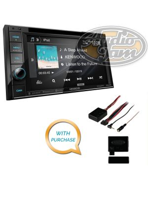 Kenwood Excelon DDX396 DVD receiver with Metra Axxess ASWC-1 Steering Wheel Control