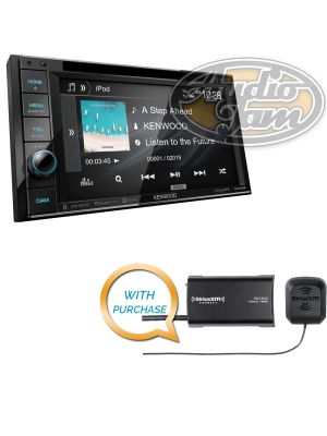 Kenwood Excelon DDX396 DVD Receiver with SiriusXM SXV300v1 Tuner