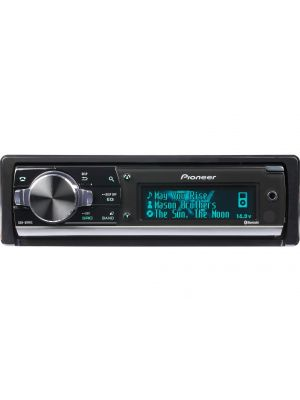 Pioneer DEH80PRS CD Din Car Receiver with LCD Display, Bluetooth, Rear USB and Pandora (DEH-80PRS)