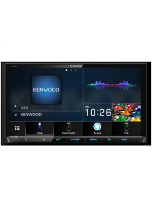 Kenwood DMX906S Digital Multimedia Receiver w/ Wired or Wireless Apple CarPlay & Android Auto