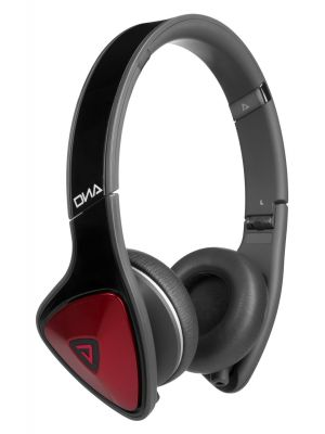 Monster® MH-DNA-ON-BKR-CA-WW On-Ear Headphones with ControlTalk™ (Black and Red)