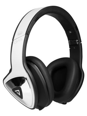 Monster® MH-DNA-OE-WHB-CUA-WW DNA Over-Ear Headphones with ControlTalk and ControlTalk Universal™ (White Tuxedo)