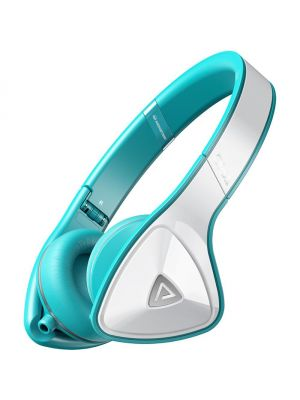 Monster® MH-DNA-ON-WHT-CA-WW DNA On-Ear Headphones with ControlTalk™ (White Teal)