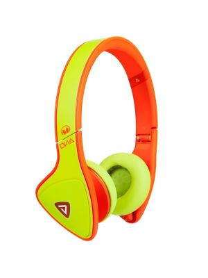 Monster® MH-DNA-ON-YEOR-CA-WW DNA On-Ear Headphones with ControlTalk™ (Yellow and Neon Orange)
