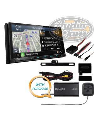 Kenwood Excelon DNX995S Navigation Receiver with SiriusXM SXV300v1 Tuner & iBeam TE-BPCIR License Plate Camera & Metra Axxess ASWC-1 Steering Wheel Control Interface