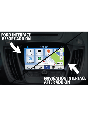 Audiovox FDS3NAV2 Ford SYNC3 Integrated Navigation Plus Kit