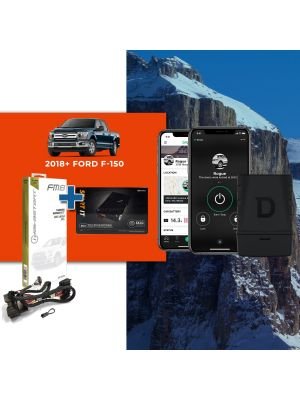 Compustar FT-DC3-LC Remote Start Module + ADS-THR-FM8 Harness + Drone DR-6400 Smart Phone Vehicle Control
