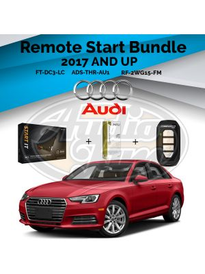 Compustar FT-DC3-LC Remote Start Module & ADS-THR-AU1 Harness & Compustar RF-2WG15-FM Remote (2017-Up Audi & Bentley Vehicles)