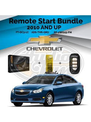 Compustar FT-DC3-LC Remote Start Module & ADS-THR-GM7 Harness & Compustar RF-2WG15-FM Remote (2010-Up GM Vehicles)