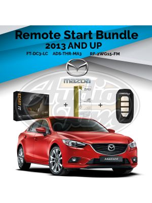 Compustar FT-DC3-LC Remote Start Module & ADS-THR-MA3 Harness & Compustar RF-2WG15-FM Remote (2013-Up Mazda, Scion, and Toyota Vehicles)