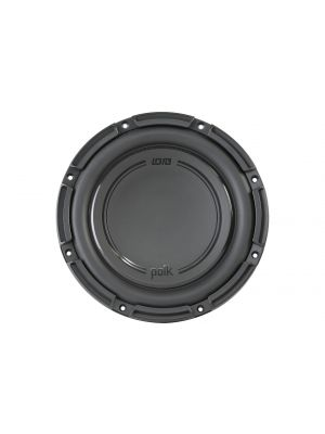 "Polk Audio DB 1042SVC 10"" Single Voice Coil Subwoofer with Marine Certification"