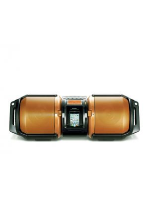Sharp GX-M10 High-Power Portable Audio System with Dual Subwoofers