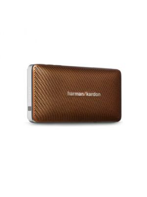 Harman Kardon HKESQUIREMINIBRNAM Esquire Mini Ultra-Slim Portable Wireless Bluetooth Speaker (Brown)