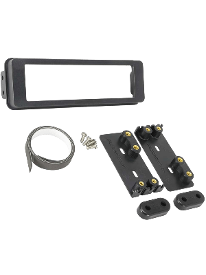Scosche HD7000AB 1996-Up Select Harley Touring Single DIN Installation Dash Kit