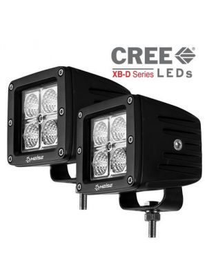 Heise HE-CL22PK 3 Inch 4 LED Cube 2 Light Kit