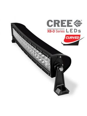 Heise HE-DRC22 22 Inch Curved Dual Row LED Lightbar