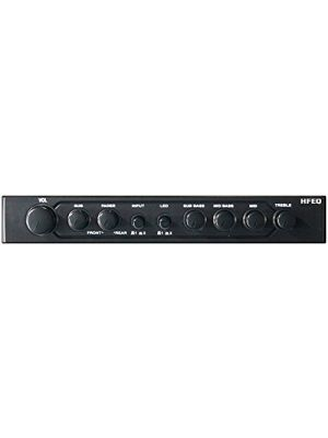 Hifonics HFEQ 4-Band Equalizer with 9-Volt Line-Driver and Multiple-Source Signal Processor