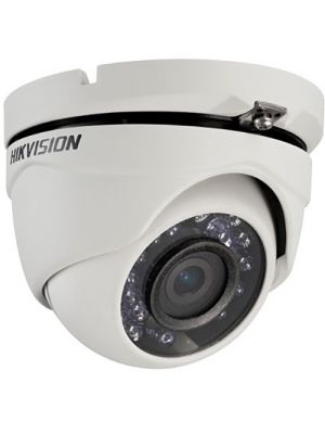 Hikvision DS-2CE56C2T-IRM2.8MM TurboHD Series 720p Outdoor HD-TVI Turret Camera with 2.8mm Lens and Night Vision (DS-2CE56C2T-IRM-2.8MM)