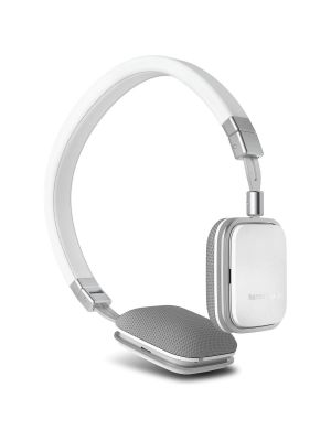 Harman Kardon HKSOHOIWHT On-Ear Heaphones with iOS Device Compatible Remote (White)