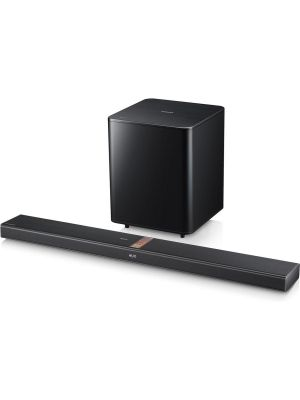 Samsung HW-F750 2.1-Channel Home Theater Sound Bar with Hybrid Amplifier Design, Wireless Subwoofer and Bluetooth®