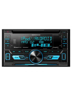 Kenwood DPX302U 2-DIN CD Receiver with Front USB & AUX Inputs