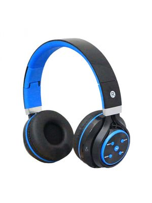 Supersonic IQ-126BT Bluetooth® Headphone with Microphone (Blue) (IQ126BT)