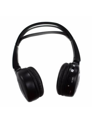 Audiovox IR2 Dual Channel Wireless Fold Flat Headphones with Batteries
