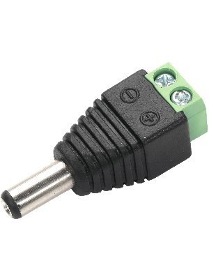 Clearview IRC-PTP-PLUG Male DC Power Plug For Bare Wire (IRCPTPPLUG)