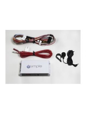 PAC ISHD751 Bluetooth HandsFree Calling Kit with A2DP & AVRCP Support for Smartphones