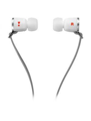 JBL J33i In-Ear Headphones with iOS In-Line Controls (White)