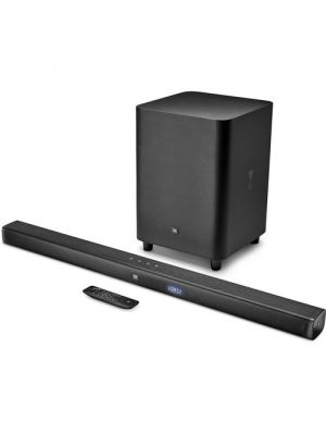 JBL JBLBAR31BLKAM Bar 3.1 450W 3.1-Channel Soundbar System