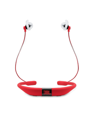JBL Reflect Fit JBLREFFITRED In-Ear Bluetooth Sport Headphones (Red)