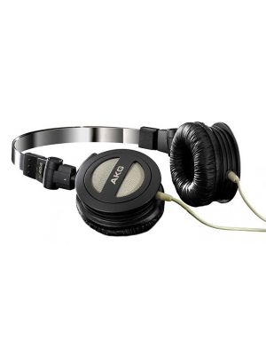 AKG K404 Foldable On-Ear Headphones (Black)